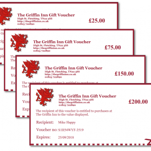 The Griffin Gift Vouchers